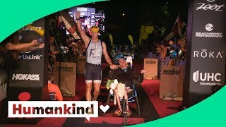 Man with cerebral palsy competes to race among world's best