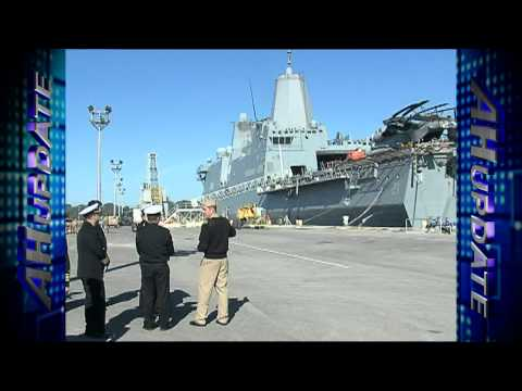 Commander, Naval Forces Europe Visits Rota Spain