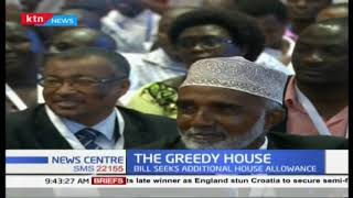 The greedy house: Members of parliament want an increase in salary