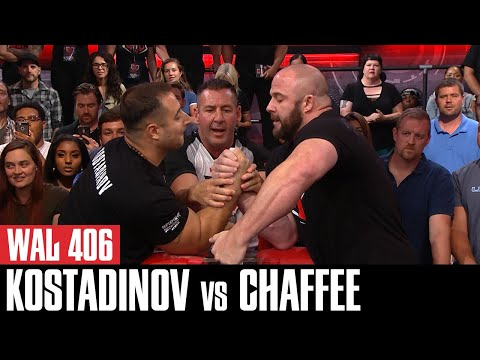 WAL 406 Supermatch: Dave Chaffee vs Krasimir Kostanov