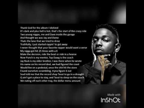 Kendrick Lamar - The Heart Part 3 (ft Ab Soul , Jay Rock) Slowed