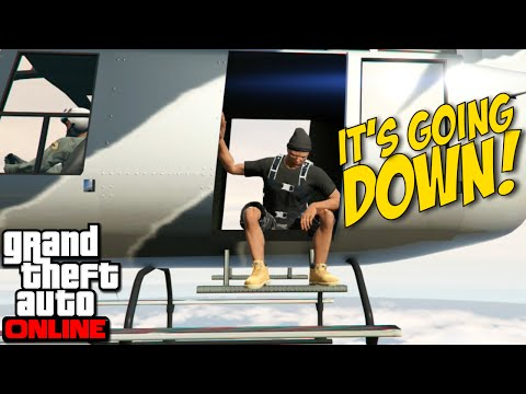 [HILARIOUS!] I'M NOT F#%KIN' AROUND Y'ALL! [GTA ONLINE]