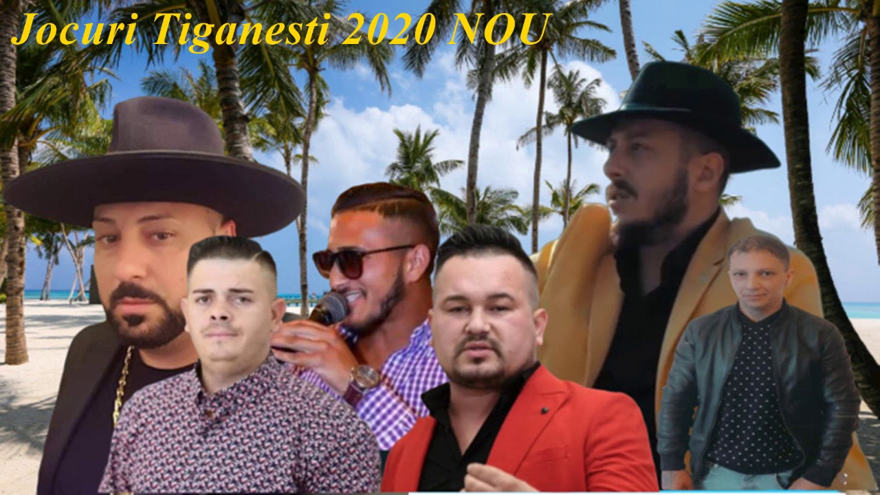 COLAJ - Jocuri  tiganesti NOU 2020 (AUDIO OFICIAL)♠️