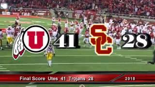 Utah Utes vs. Usc Trojans * 10-20-18 * Utah Vs USC Trojans * Utah vs USC