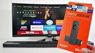 2018 Amazon FireTV STICK 4K  (3RD GEN) - Black Friday Sale 34.99
