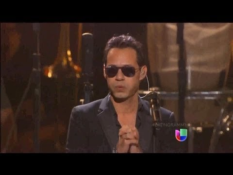 Marc Anthony Vivir Mi Vida Latin Grammy 2013
