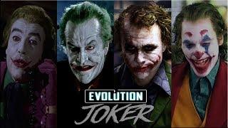 Эволюция Джокера в кино и на телевидении:(#Джокер)