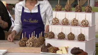 Mrs. Prindables 12 Piece Toffee Lovers Caramel Apple Assortment on QVC