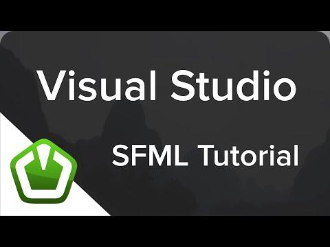 SFML - Visual Studio Setup (C++ Tutorial) - YouTube
