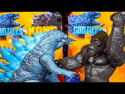 Godzilla vs Kong Giant Playmates Toys: Review