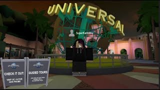 ROBLOX UNIVERSAL STUDIOS BACK LOT TOUR