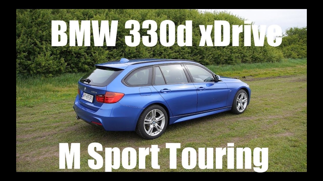 ENG BMW Series Touring F Estate Test Drive And - 2014 bmw 330i