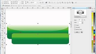 Glassy Button Tutorial, Tutorial Corel Draw, Tips and Trick, Mastering Corel Draw
