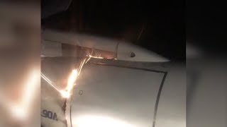 Passengers forced to flee as jet catches fire in Russia