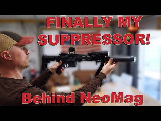 Finally My Suppressor! - Tactical Training - Behind The Scenes Shop Life