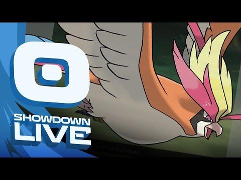 """Mega Pidgeot Released"" Pokemon Sun & Moon! OU Showdown Live w/PokeaimMD & Moet!"