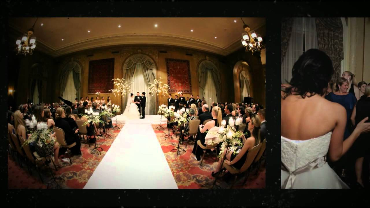 Fairmont Olympic Hotel Wedding In Seattle By Azzura Photography