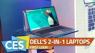 Dell Latitude 7400 2-in-1, Dell Inspiron 7000 2-in-1 First Look