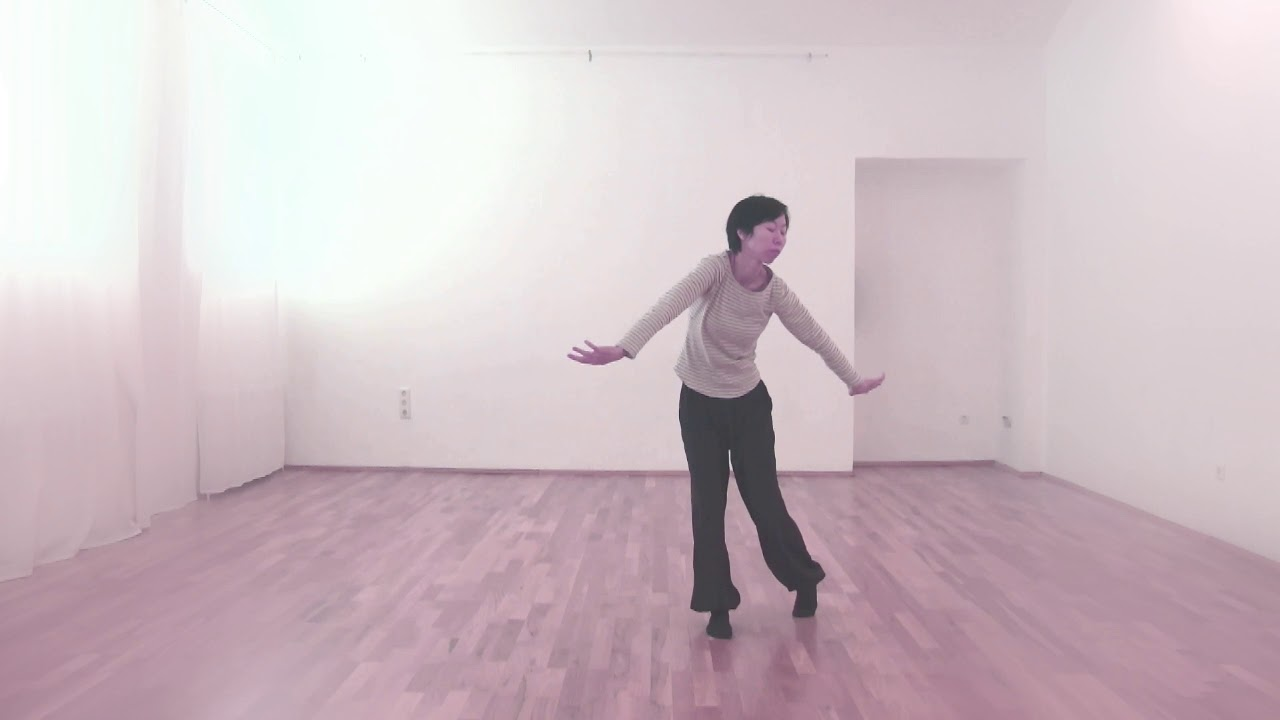 Solo Dance Improvisation - a bird in nature