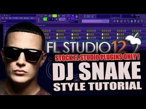 How To Make Music Like DJ Snake Using Only Stock Plugins [FL Studio] + FREE FLP !