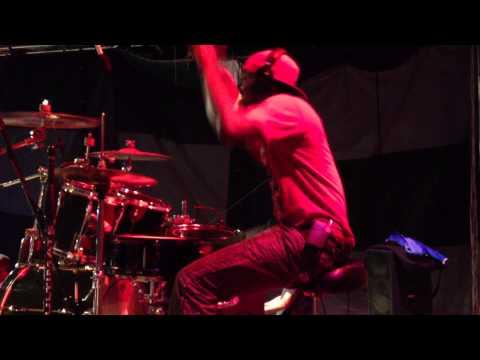 Drummer Javier Jarvis at Soca Frenzy in Montserrat 2012