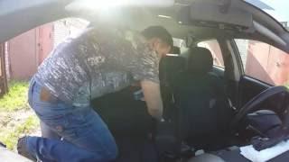 видео Чехлы на сидения TOYOTA BELTA