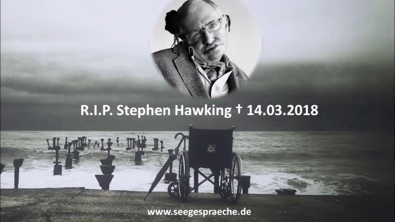 Die Letzten Worte Von Stephen Hawking Last Words Of Stephen