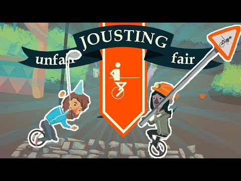 Unfair Jousting Fair | BATTLING ON UNICYCLES AND SNAILS! | Let's Play Unfair Jousting Fair Gameplay