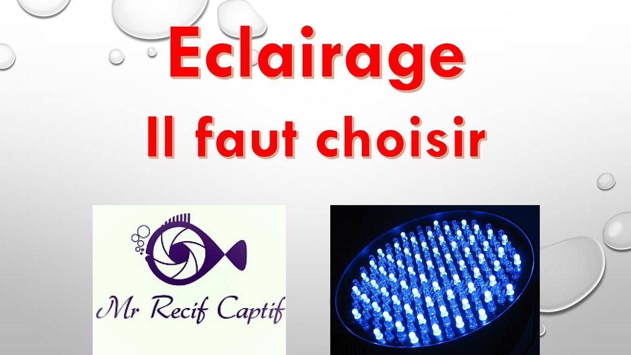 Choix D Eclairage Mr Recif Captif 83 Youtube