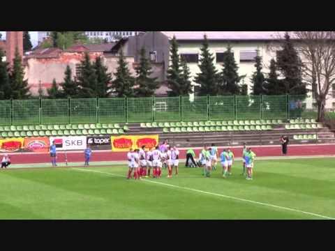 European Nations Cup - ENC 2C - Slovenia  43- 17 Bulgaria - 12.04.2014