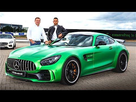 Mercedes AMG GTR REVIEW WORLD PREMIERE Lewis Hamilton Driving 2017 AMG GTR Engine Sound CARJAM TV