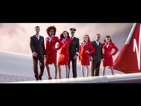 Virgin Atlantic Cabin Crew Commercial  [HD]
