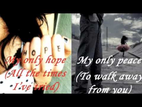 Evanescence - October (with lyrics)
