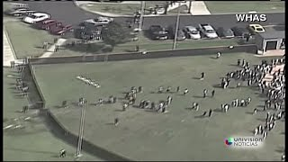 Reportan tiroteo en escuela de Louisville, Kentucky