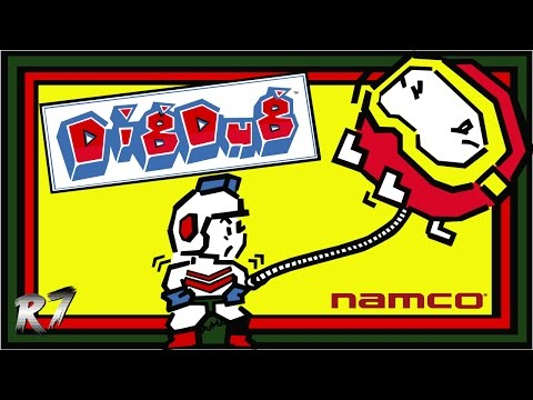 Dig Dug | 1982 | Arcade | Gameplay | HD 720p 60FPS