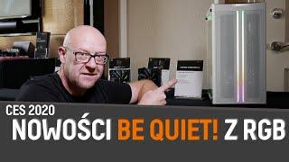 JESTEM W LAS VEGAS! | be quiet! pokazało nowe produkty z RGB