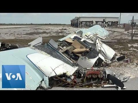 Freeport Airport Destroyed by Hurricane Dorian