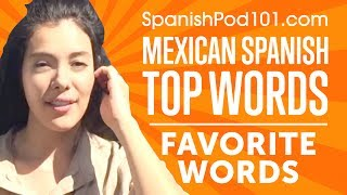 Learn the Top 15 Favorite Words - Chosen by Fans -