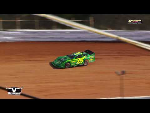 Crate Late Model | The Grinch 40 | Volunteer Speedway Dec  7, 2019