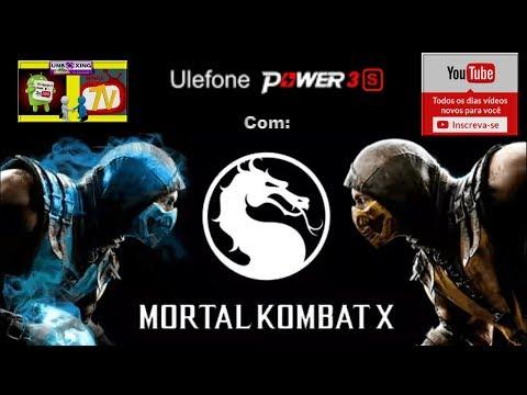 MORTAL KOMBAT X no Ulefone Power 3S Fiz o Teste com Game Android