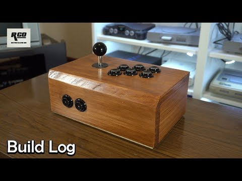 DIY Wood RetroPie Arcade Stick: Build Log