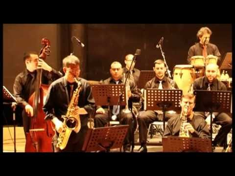 Lebanese National Conservatory of Music Big Band HQ (2010 concert in  Beirut) mov