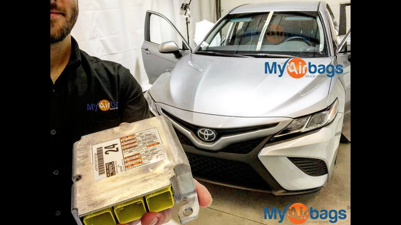 toyota camry airbag srs module location reset myairbags com [ 1280 x 720 Pixel ]