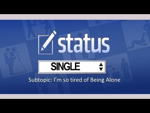 Status Week 1 Im Tired Of Being Alone Pastor Duerre Thomas