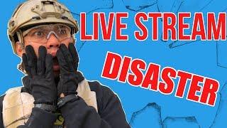 LIVE Stream DISASTER!
