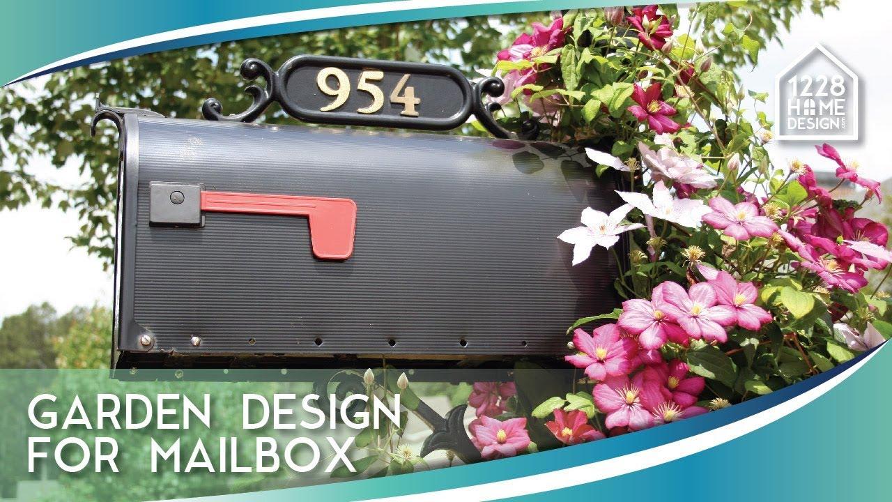 garden design for mailbox