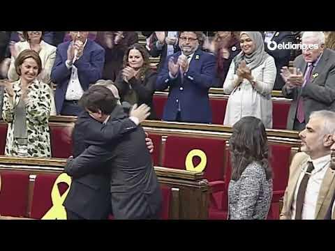 Quim Torra, proclamado nuevo President de la Generalitat de Catalunya