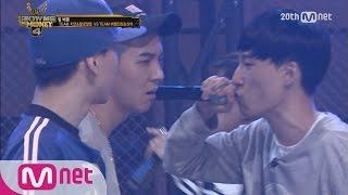 smtm4 black nut vs song minho team battle 2nd round ep 07