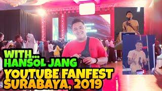 with HANSOL JANG on YOUTUBE FANFEST 2019 - Surabaya