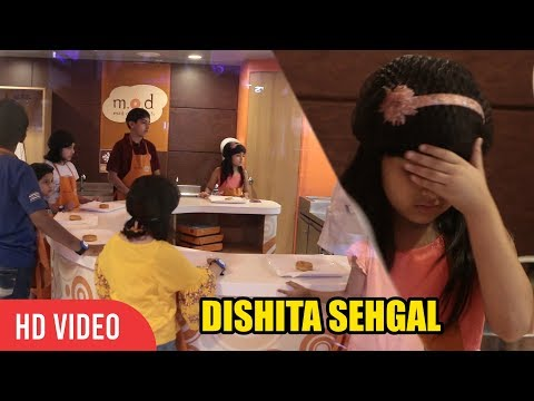 CUTE Child Artist DISHITA SEHGAL Visited KidZania | Portrayed the Character of a Younger Alia Bhatt